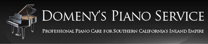 Domeny's Piano Service in Southern California